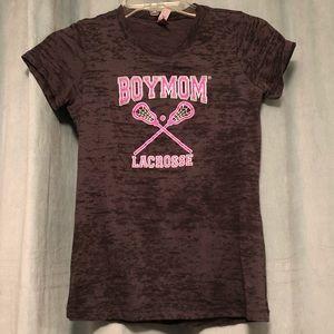 Boy Mom Lacrosse tee shirt